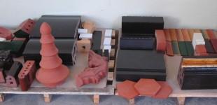 Kształtki ceramiczne oraz szkliwone do renowacji zabytków architektury