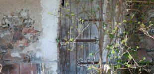 Stare drzwi barokowe