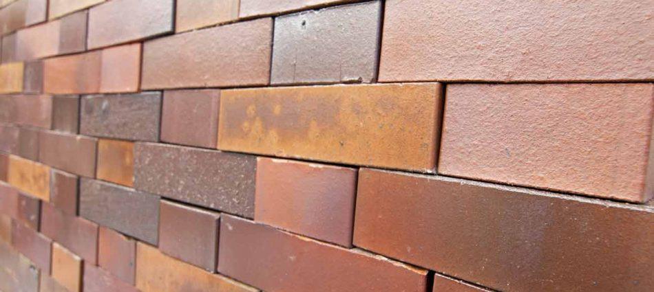 Cegła typu berlińskiego - glazurowana w odcieniach brązu